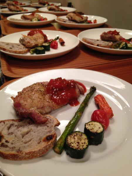 Grilled Chicken & Vegetable